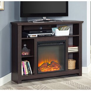 Find Senecaville Corner TV Stand for TVs up to 48 with Fireplace ByDarby Home Co
