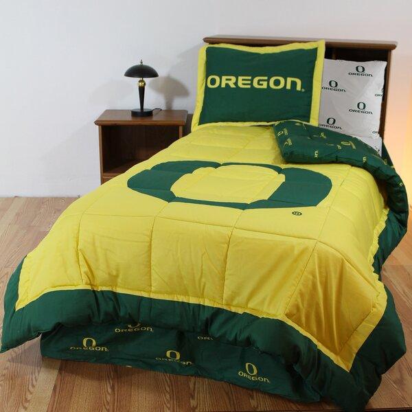 NCAA Team Reversible Comforter Set