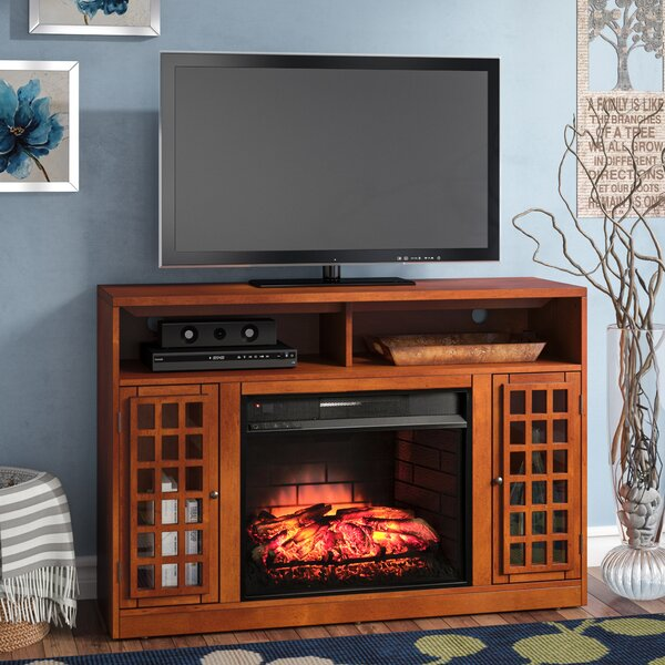 Dunford 48 TV Stand with Fireplace by Red Barrel Studio