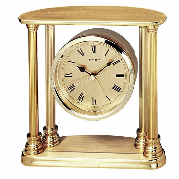 Executive Column Floating Clock by Seiko