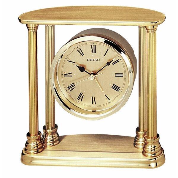 Executive Column Floating Clock by Seiko