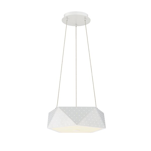 Acuto 4 - Light Unique / Statement Geometric Chandelier By Eurofase