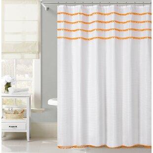 Well known Orange Shower Curtains You'll Love   Wayfair IX29