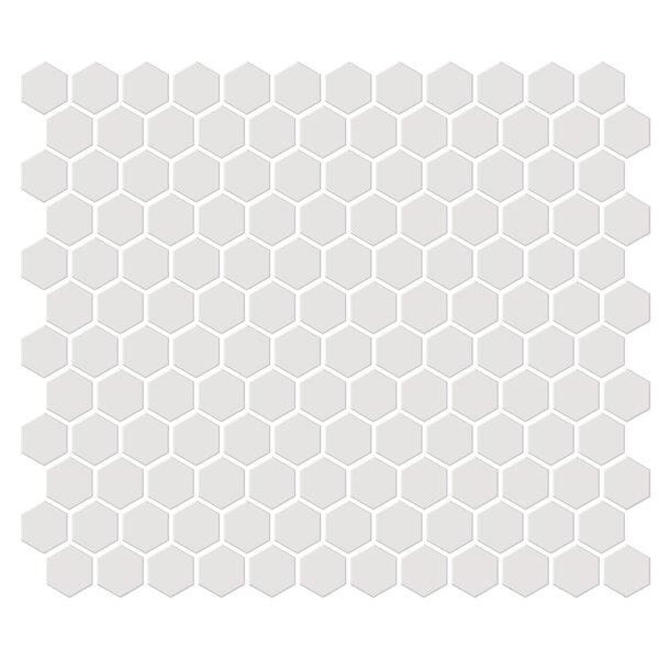 Shape 1 x 1 Porcelain Mosaic Tile in Beige by Emser Tile
