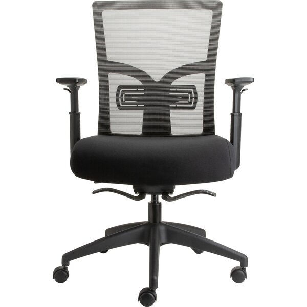 Lorell Mid-Back Mesh Chair With Adjustable Lumbar Support