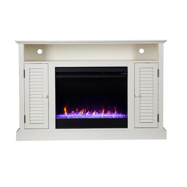 Antebellum Media Fireplace By Ebern Designs