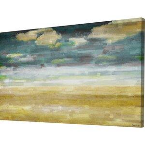'Distant Sands' by Parvez Taj Painting Print on Wrapped Canvas by Parvez Taj