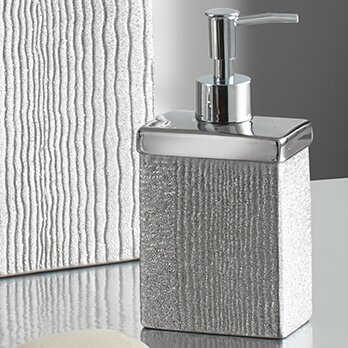 Roebling Lotion Dispenser by Croscill Home Fashions