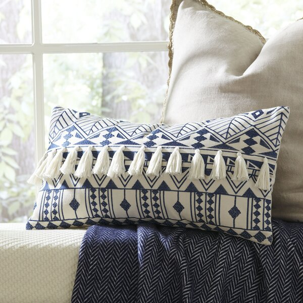 Matea Embroidered Pillow Cover by Birch Lane™