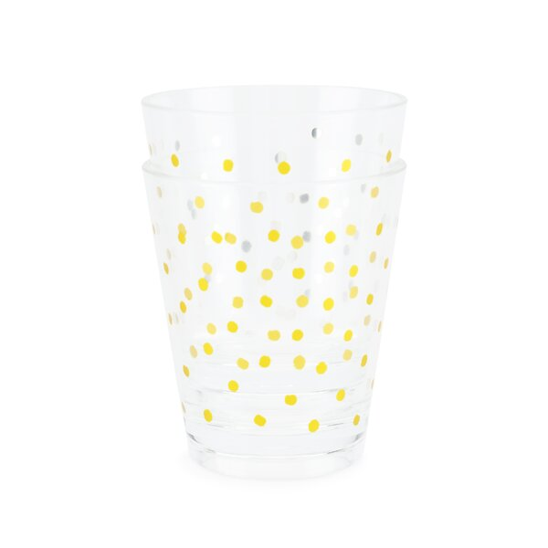 Dots Acrylic 23 oz. Cup (Set of 2) by Blush
