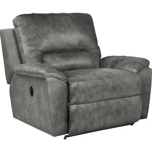charger laztime leather recliner