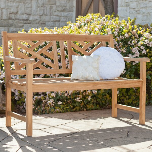 Randall Teak Garden Bench by Wildon Home ®