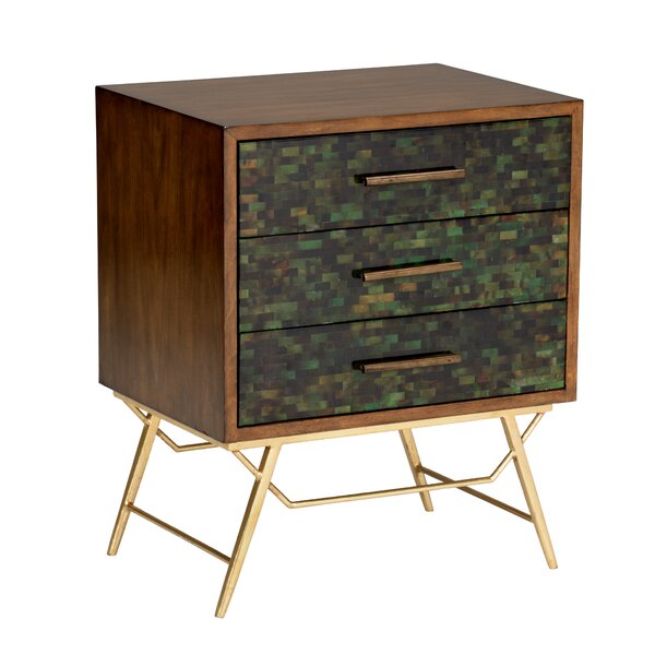 Gordon 3 Drawer Accent Chest by Wildwood