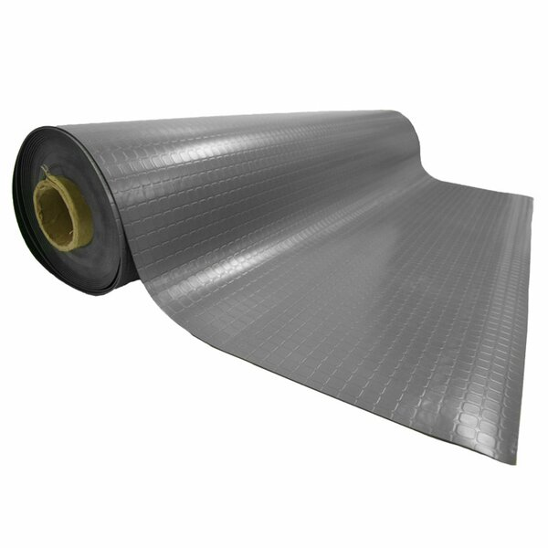 Block-Grip 96 Rubber Flooring Roll by Rubber-Cal, Inc.