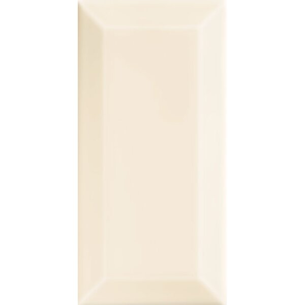 Essentials 3 x 6 Ceramic Subway Tile in White by Interceramic