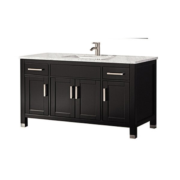 Peralez Modern 60 Single Bathroom Vanity Set by Brayden Studio
