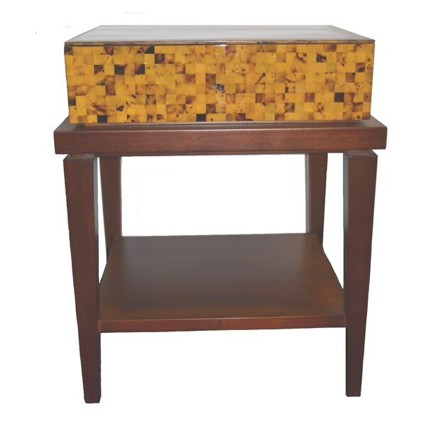 Fiji 1 Drawer Nightstand by Indo Puri