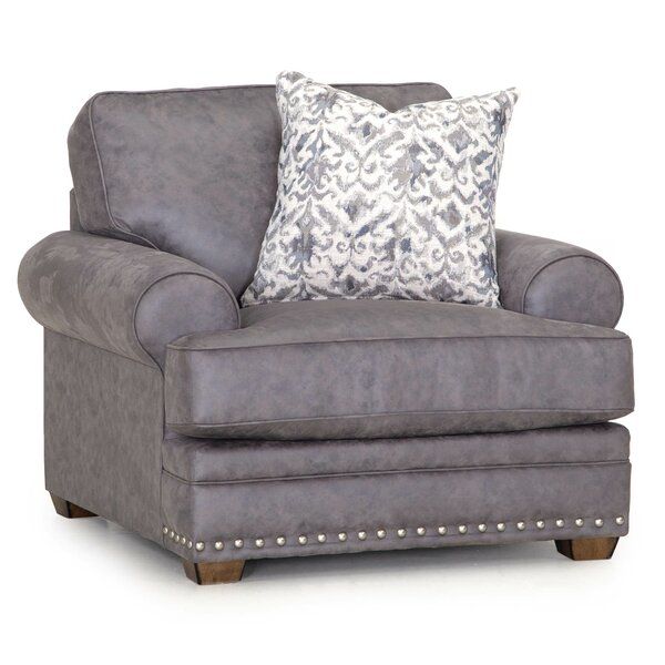 Fickes 23.25-inch Armchair by Canora Grey Canora Grey