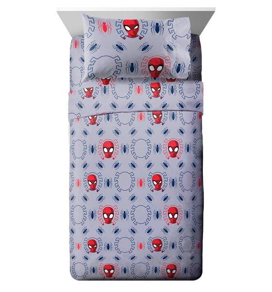 Marvel Spiderman Spidey Crawl Reversible Comforter
