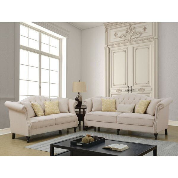 Prospe Upholstered Configurable 2 Piece Living Room Set by Rosdorf Park