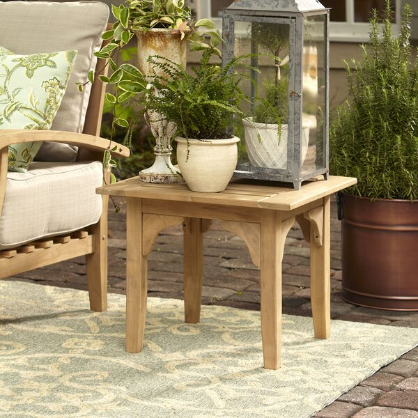 Summerton Teak Side Table by Birch Lane™