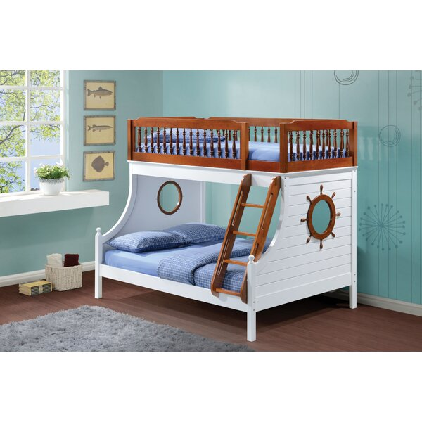Knotts Twin Over Full Bunk Bed by Harriet Bee