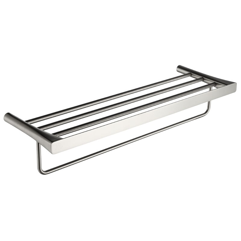Caster 3 Wall Mounted Towel Rack