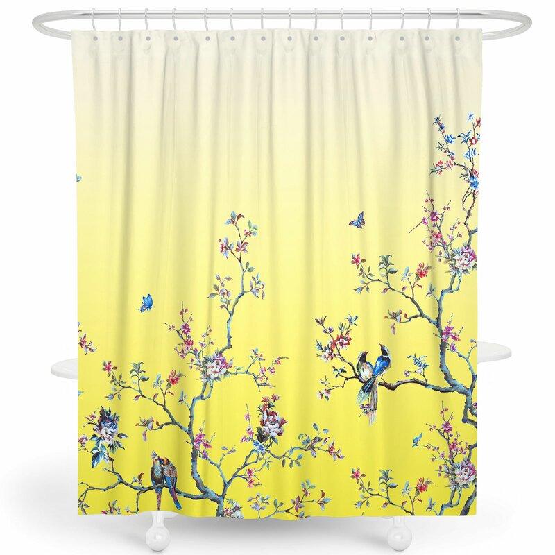 "72/"" Beautiful Red Rose Shower Curtain Liner Bathroom Mat Waterproof Fabric Hooks"
