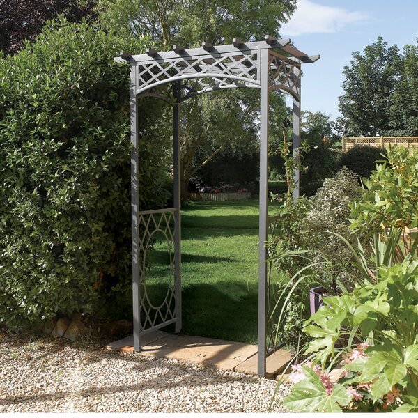 Wrenbury Steel Arbor by Rowlinson