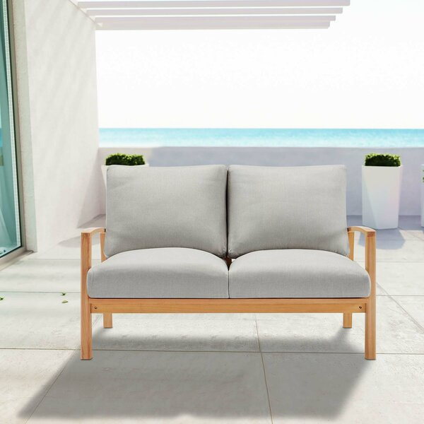 Reanna Loveseat with Cushions by Rosecliff Heights