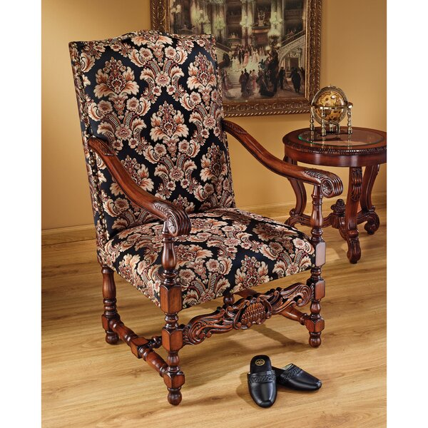 Milton Manor Drawing Room Arm Chair by Design Toscano Design Toscano