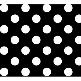 Primary Polka Dots Woven Portable Mini Fitted Crib Sheet BySheetworld