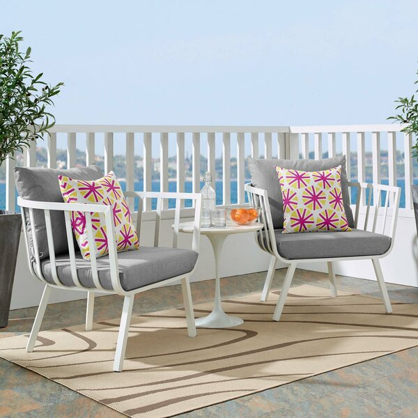 Montclaire Patio Chair with Cushions (Set of 2) by Brayden Studio