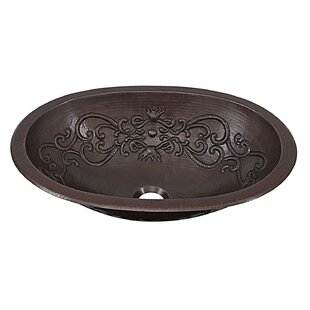 Compare Pauling Metal Oval Undermount Bathroom Sink By Sinkology