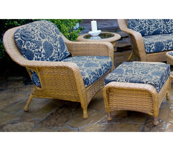 Fleischmann Chair and Ottoman by Darby Home Co