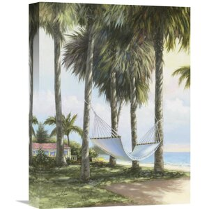 'Summer Breeze' by Sambataro Painting Print on Wrapped Canvas by Global Gallery