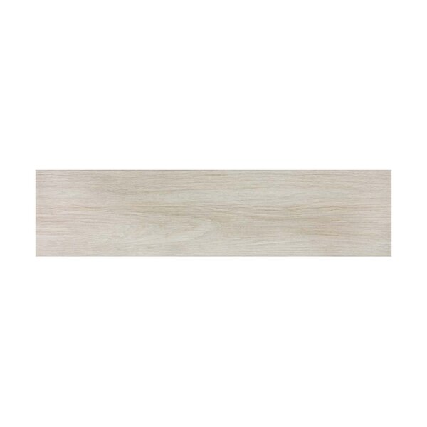 Vanderbilt 6 x 36 Porcelain Wood look Tile in Sand by Parvatile