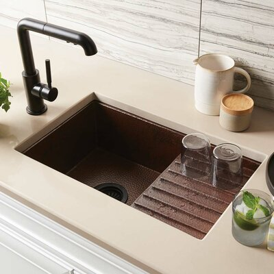 Kitchen Sink Undermount Antique Copper 361 Product Photo