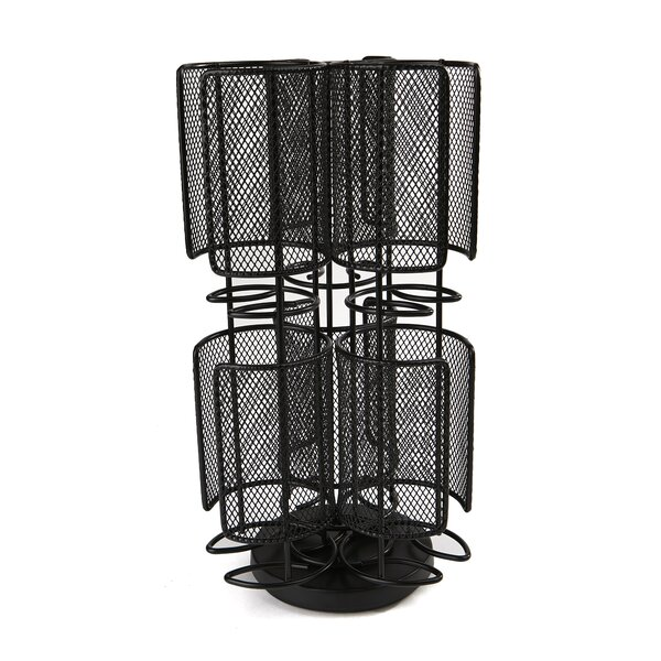 2 Tier Mesh Spinning Tassimo Sorage Rack by Mind Reader