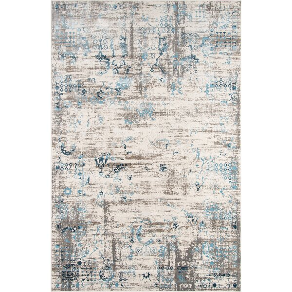 Hoagland Blue Area Rug by Charlton Home