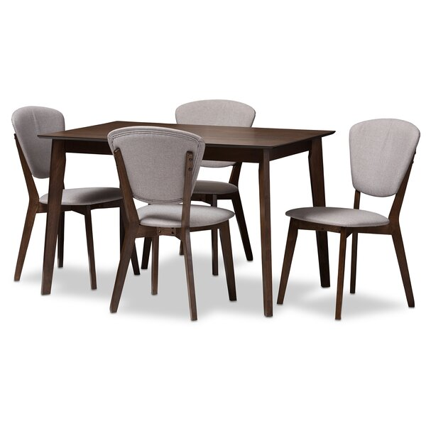 Chaparro 5-Piece Dining Set by George Oliver George Oliver