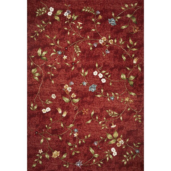 Ulysse Red Indoor/Outdoor Area Rug by August Grove