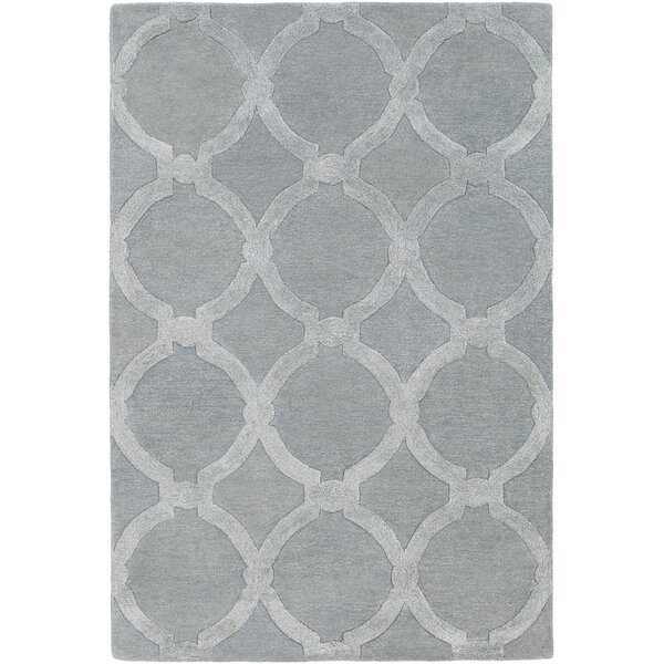 Labastide Hand-Tufted Light Gray Area Rug by Laurel Foundry Modern Farmhouse