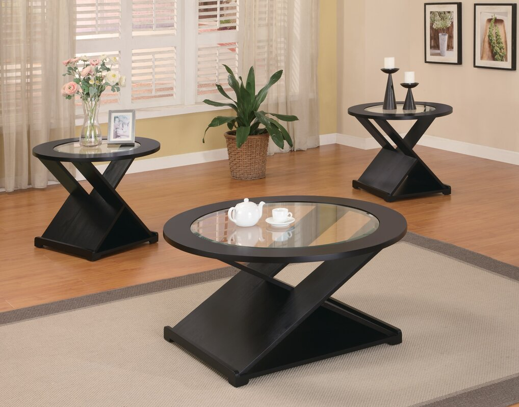 Wildon Home  Coffee Table Sets Youll Love Wayfair - Coffee table end table set