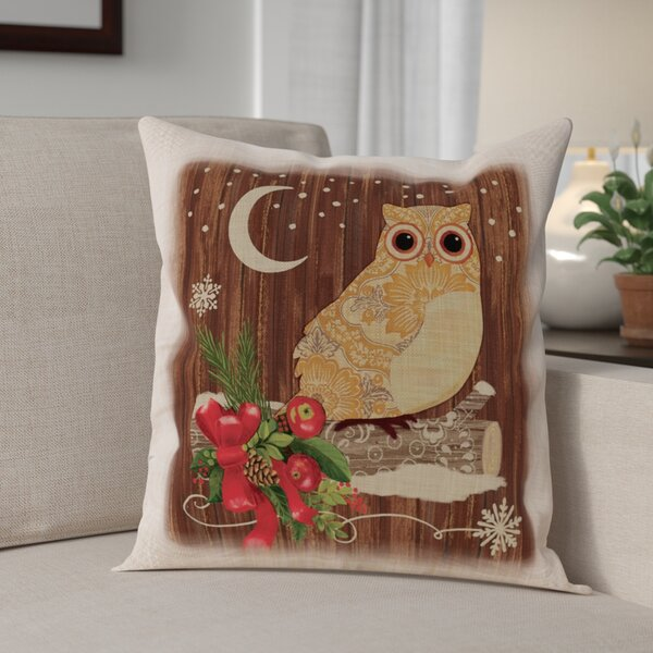 Alpine Lodge Pillow Cover by The Holiday Aisle