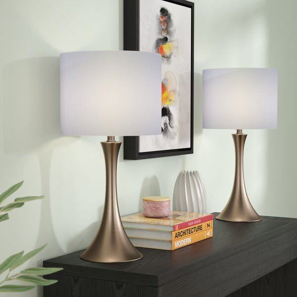 Louis 2 Piece Table Lamp (Set of 2) by Zipcode Design