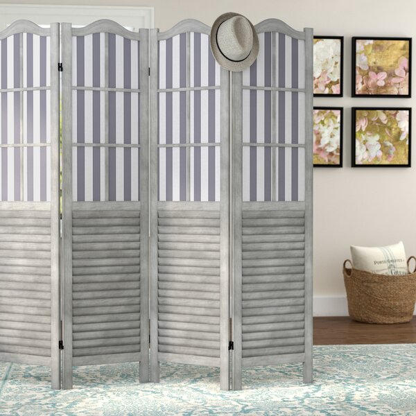 Vozelle 4 Panel Room Divider by Lark Manor