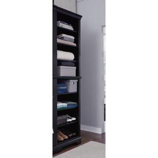 Glenmoor 25W Black Solid Wood Closet System ByAlcott Hill