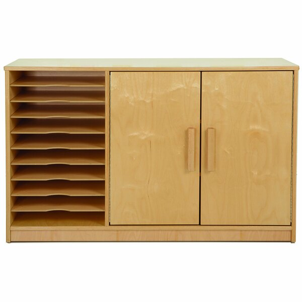 Art Paper 2 Door Accent Cabinet by Whitney Plus