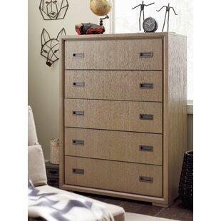 Hudson 5 Drawer Standard Dresser ByRachael Ray Home